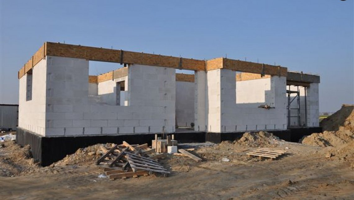 Проект небольшого одноэтажного дома интересного дизайна
