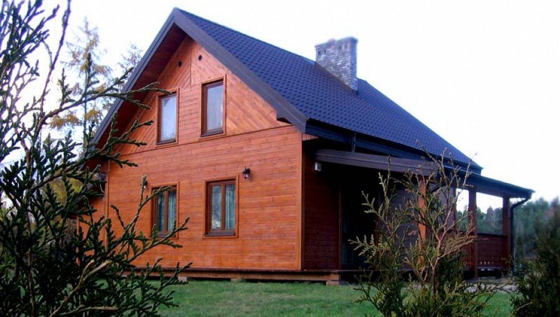 Проект небольшого дома с мансардой