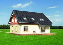 Живописный коттедж с двумя террасами