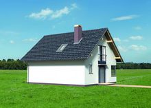 Двухэтажный жилой дом в стиле Западной Европы