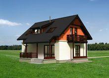 Загородный особняк с площадью 110 m² и пятью комнатами