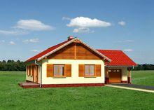 Симпатичный загородный дом для небольшой семьи