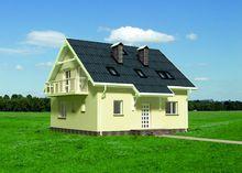 Красивый загородный домик для небольшой семьи