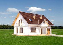 Архитектурный проект классического дома с площадью 170 m²
