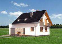 Архитектурный проект загородного коттеджа с небольшой площадью