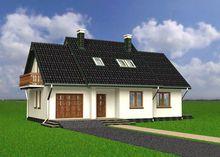 Оригинальный дом с четырьмя просторными комнатами