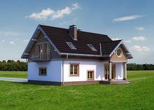 Проект двухэтажного особняка в классическом стиле