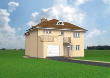 Необычный проект аристократического дома с полукруглыми помещениями