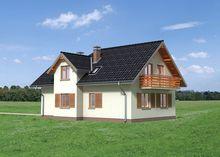 Жилой дом на восемь спален интересной планировки