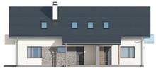 Проект дома на две семьи с отдельными входами
