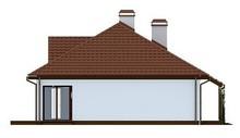 Проект одноэтажного дома с оранжереей и террасой