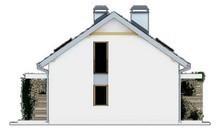 Проект дома на две семьи с разными входами