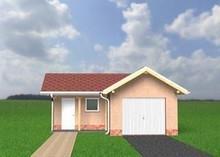 Проект гаража с кладовой