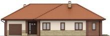 Симпатичный уютный коттедж с многоскатной крышей