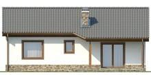 Проект одноэтажного дома с двумя спальнями