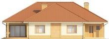 Проект одноэтажного дома с гаражом для 2 машин