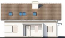 Проект энергосберегающего классического коттеджа с мансардой
