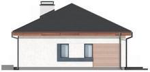 Проект стильного одноэтажного классического коттеджа