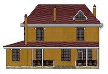Архитектурный проект классического двухэтажного особняка с кирпичным фасадом