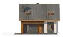 Стильный современный дом с кирпичным фасадом