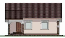 Проект для строительства компактного коттеджа 70 m²