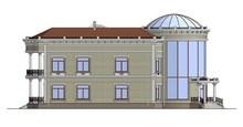 Фешенебельная резиденция с куполообразной крышей
