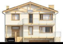 Проект двухэтажного коттеджа с подвалом