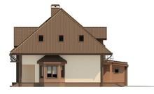 Проект дома на две семьи с гаражом и чердаком
