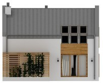 Стильный проект современного дома