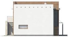 Проект двухэтажного особняка в стиле хай - тек