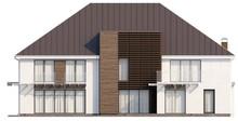 Проект шикарного современного особняка со сдвоенным гаражом