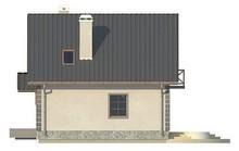 Проект небольшого домика с мансардой
