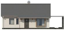 Проект небольшого классического одноэтажного коттеджа