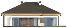Проект одноэтажного коттеджа с гаражом на две машины