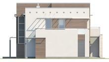 Проект дома с гаражом на два автомобиля