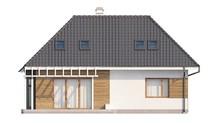 Проект дома с мансардой и дополнительной спальней