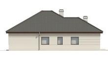 Планировка коттеджа на 155 кв. м с семью спальнями
