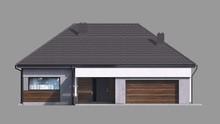 Одноэтажный коттедж с тремя личными помещениями