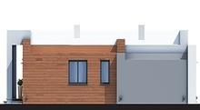 Модный одноэтажный дом с гаражом на два автомобиля