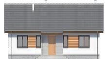 Одноэтажный дом с тремя спальнями