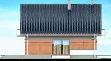 Двухэтажный коттедж с шикарными балконами и спортзалом