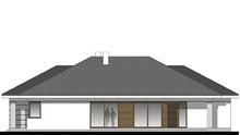 Одноэтажный коттедж площадью 200 м2