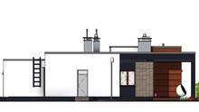 Современный жилой дом с тремя спальнями