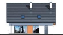 Мансардный жилой дом  для большой семьи