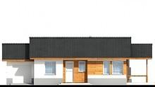 Чертежи красивого одноэтажного дома с тремя спальнями