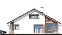 Двухэтажный жилой дом с изолированными личными апартаментами