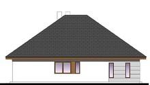Просторный одноэтажный жилой дом