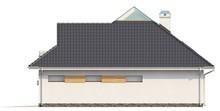 Проект дома с боковой террасой