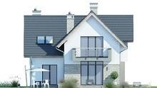 Двухэтажный дом с просторной гостиной