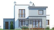 Двухэтажный великолепный дом в современном стиле